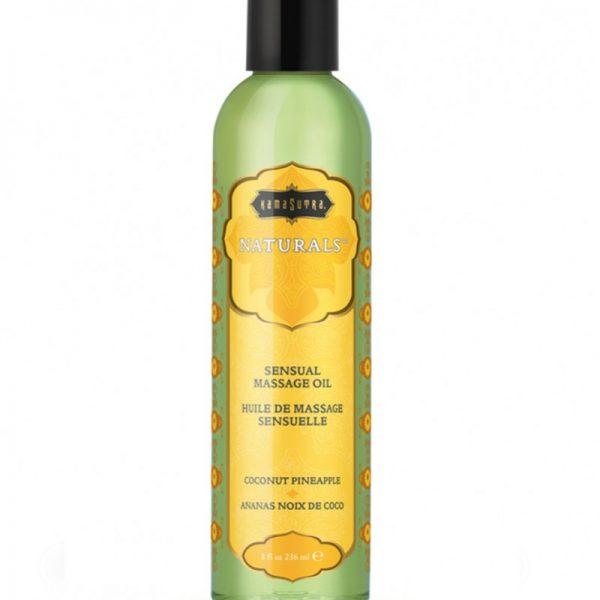 Kama Sutra - Naturals Massage oil - Kokosnoot Ananas