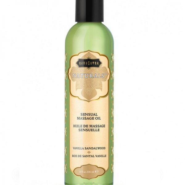 Kama Sutra - Naturals Massage oil - Vanilla Sandelwood