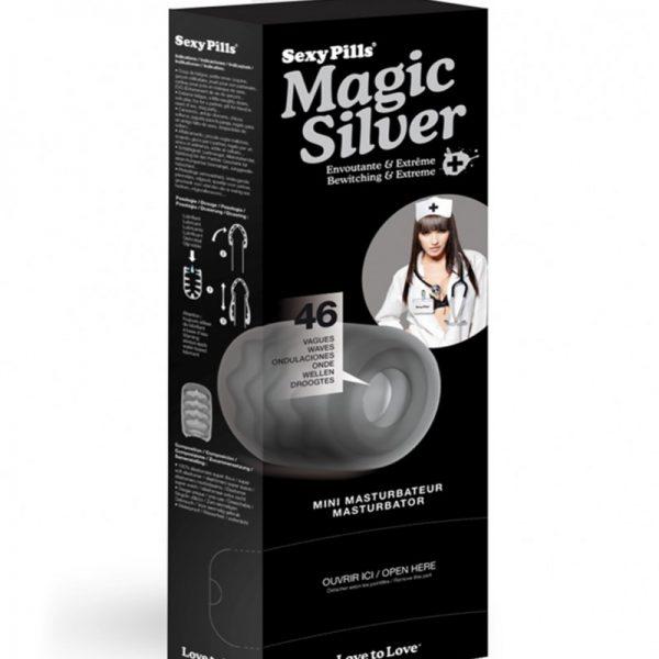 Love to Love - 6 stuks Sexy Pills Magic Silver