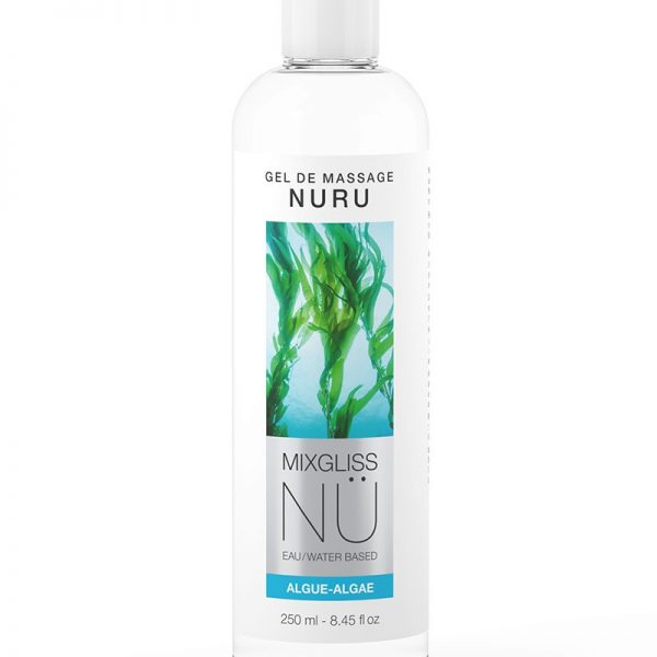 Nuru Gel Original is een lichaamsmassage gel op basis van water en Nori zeewier. De gel is vloeibaar maar vast