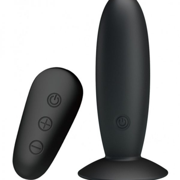 Deze zwarte buttplug heeft 12 vibratiestanden die je kunt regelen met de afstandsbediening. De vibrator heeft een slank ontwerp om deze comfortabel in te kunnen brengen. Het opladen gaat snel en gemakkelijk met de meegeleverde USB-kabel.