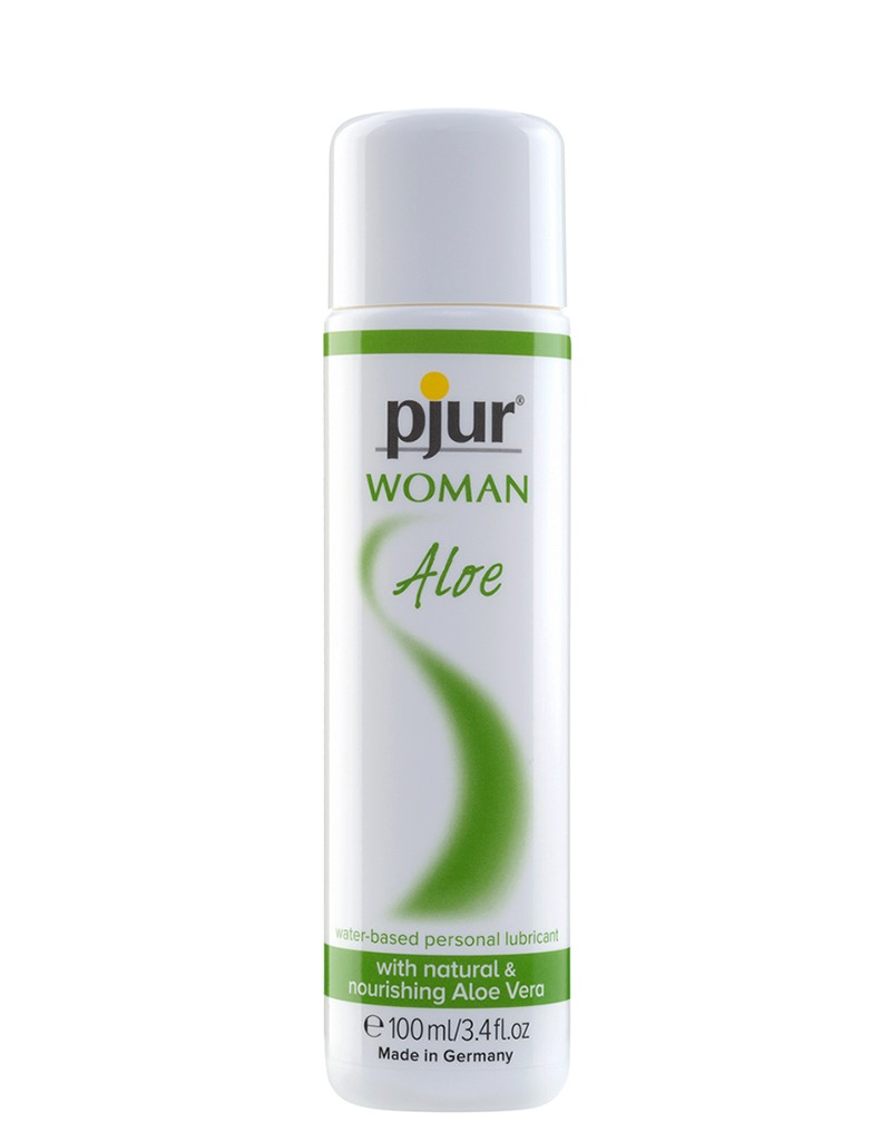 Personal lubricant with an extra boost for women's bodies: Aloe vera hydrates and enhances lubrication for all-round passion.