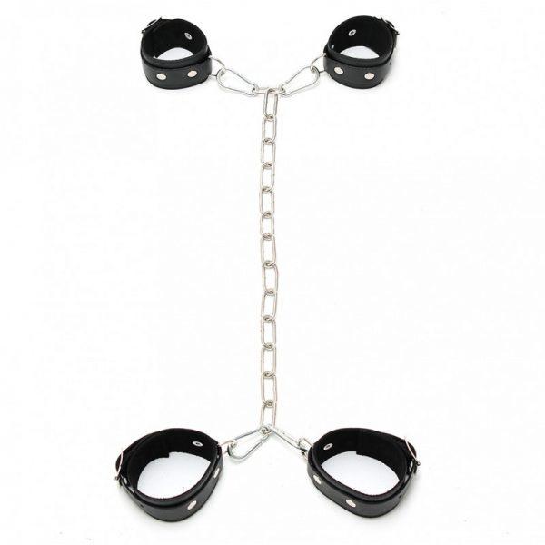 Rimba - Arm - voetboeien combinatie met ketting