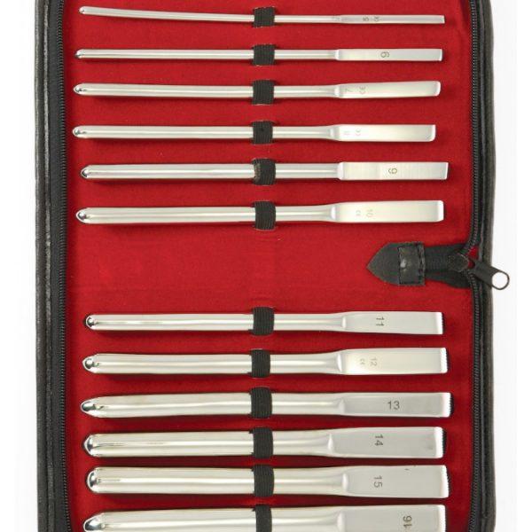 Rimba - Dilator set (14 maten) compleet in luxe bewaar hoes