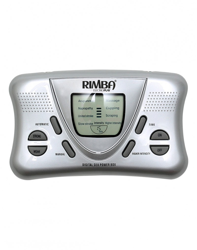 Rimba - Electro Sex Powerbox set met LCD display