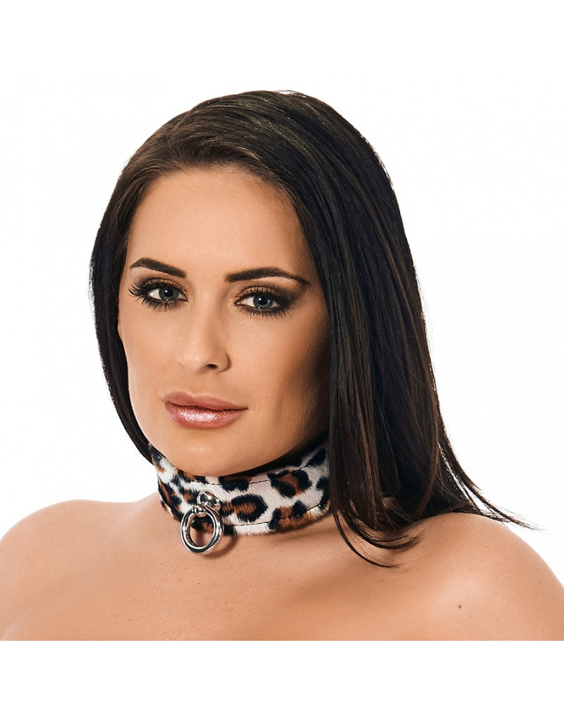 Rimba - Halsband 4 cm. breed