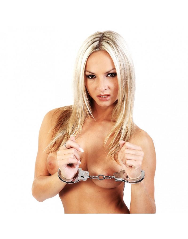 Rimba - Metalen politie handboeien