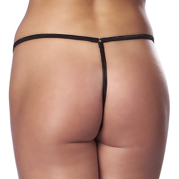 Amorable by Rimba micro thong with zipper