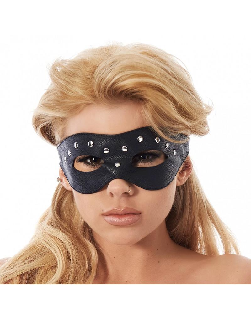 Rimba - Open oogmasker versierd met nieten