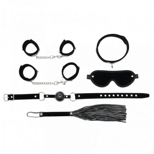 Rimba - Soft bondage starter set met klittenband (6-delig)