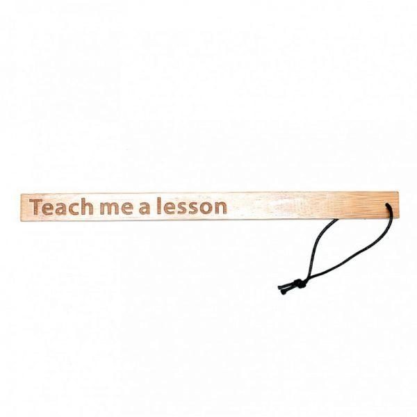 Rimba - Teach Me A Lesson - Bamboe Lineaal