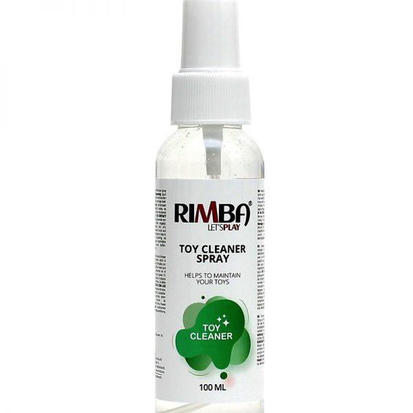 Rimba Toy cleaner: Een direct werkende en effectieve spray voor het hygiënisch reinigen van erotisch speelgoed. Toepassing: Spuit direct op het oppervlak van het erotisch speeltje dat moet worden gereinigd en neem af met een schone pluisvrije doek. Waarschuwing: buiten bereik van kinderen houden. Na het werken met dit product de handen wassen. Kan oogirritatie en/of een allergische reactie veroorzaken. Contact met de ogen vermijden. BIJ CONTACT MET DE OGEN: voorzichtig afspoelen met water gedurende een aantal minuten en een arts raadplegen. Bevat mengsel van 2-methylisothiazolin- 3-one and 5-chloro-2-methylisothiazolin-3-one. Bewaring: in de originele verpakking bij kamertemperatuur.