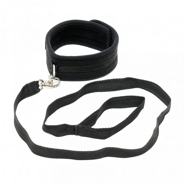 Rimba - Zachte halsband met leidsel