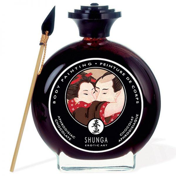 Shunga - Body Paint - Aphrodisiac Chocolate 100 ml.