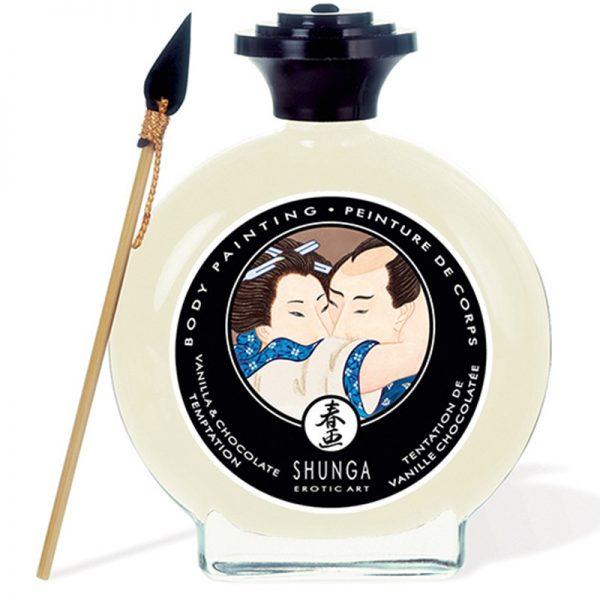 Shunga - Body Paint - Vanilla Chocolate Temptation 100 ml.