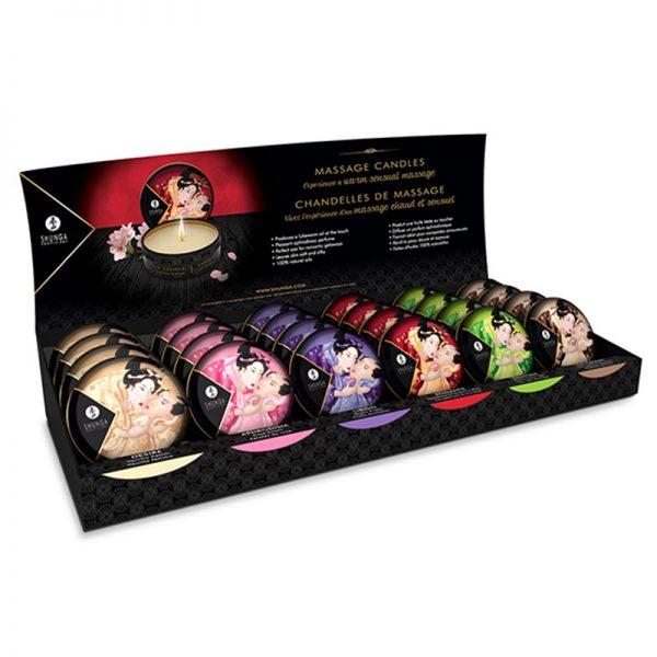 Shunga - Mini Massagekaars - Display 24 x 30 ml.