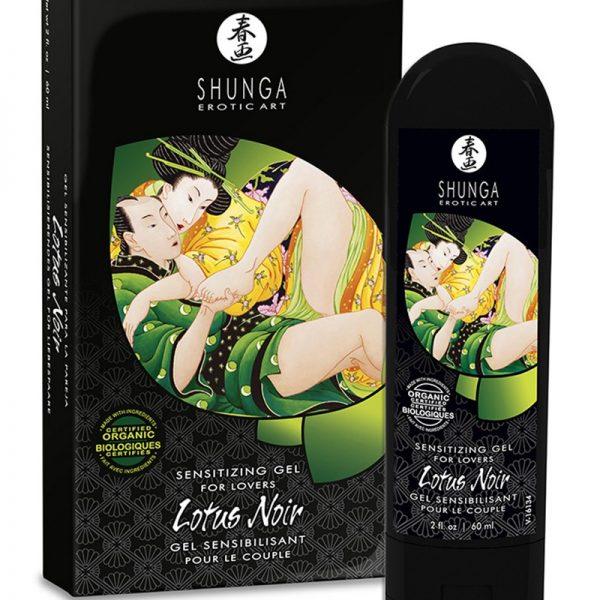 Shunga - Sensitizing gel for lovers - Lotus Noir 60ml