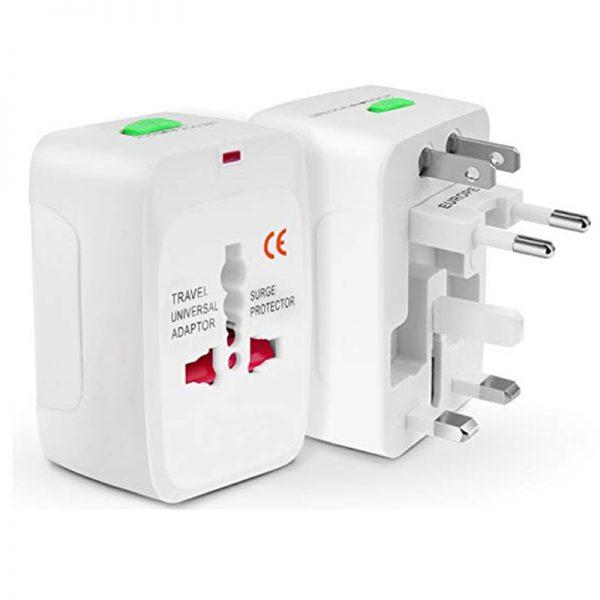 Universal Travel Adapter for US / AU / UK / EU