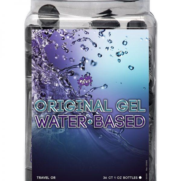 Dit glijmiddel is volledig op waterbasis. Het is schoon