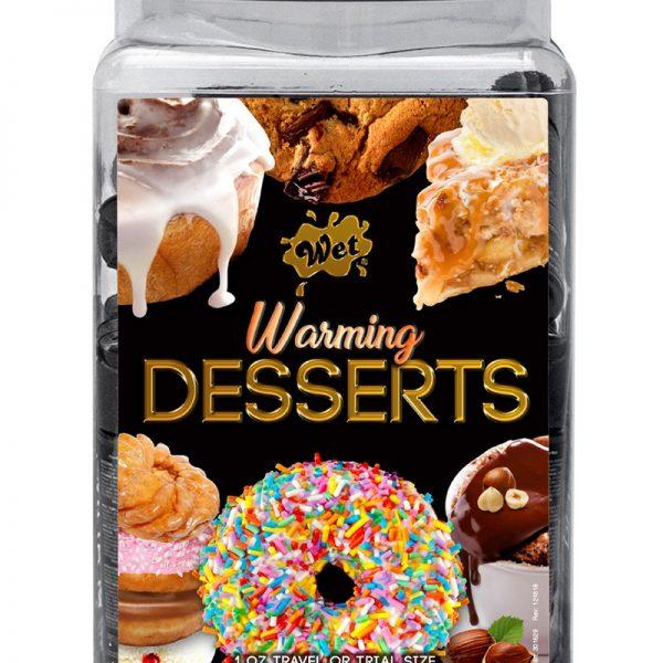 Bevredig uw zoetekauw met WET® Warming Desserts® glijmiddelen. Kies uit de verrukkelijke smaken van Slow Baked Hazelnut Soufflè