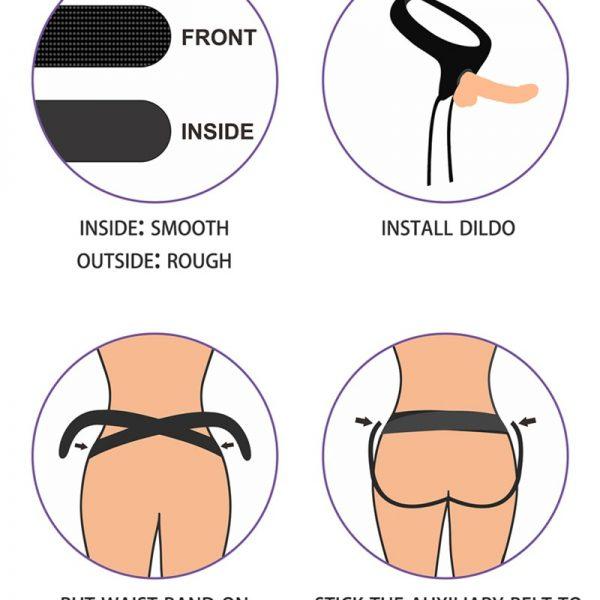 Deze Easy Strap-On Dildo is gemaakt om je de meest levensechte ervaring te geven! Dankzij de levensechte realistische penis en de zachte eikel creeër je een authentieke sensatie. Deze strap-on is eenvoudig en stabiel vast te maken aan het strap-on harnes