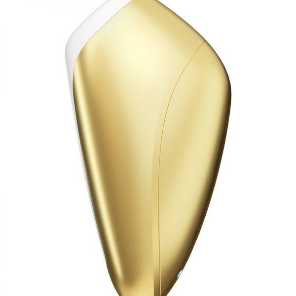 Laat jezelf meevoeren op de seksuele wellnessgolf met de Love Breeze! Deze vibrator verwent je met heerlijke drukgolven om de clitoris zonder een vorm van contact te stimuleren. De handige vorm van de stimulator maakt het de ideale air-pulse vibrator voor onderweg. Met een sensuele combinatie van luchtpulsen en een tintelende druk stimuleert de vibrator de clitoris zonder contact met 11 verschillende intensiteitsniveaus