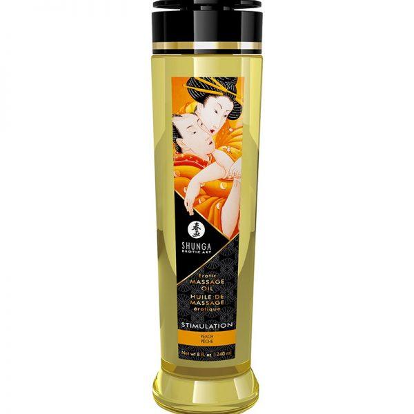 sensuele massage dankzij deze Shunga massage olie. Alle oliën zijn zorgvuldig geselecteerd op hun stimulerende kwaliteiten