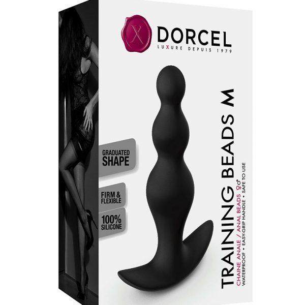 De Training Beads van Dorcel zijngemaakt van flexibel materiaal