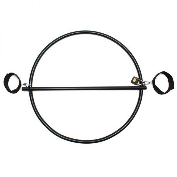 Rimba Restraint Ringmet hangslot en handboeien met klittenband
