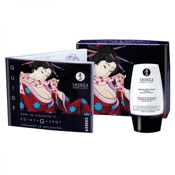 Shunga - Rain of Love - G-Spot Arousal Crème - 30 ml